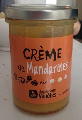 Crème de Mandarines - Product