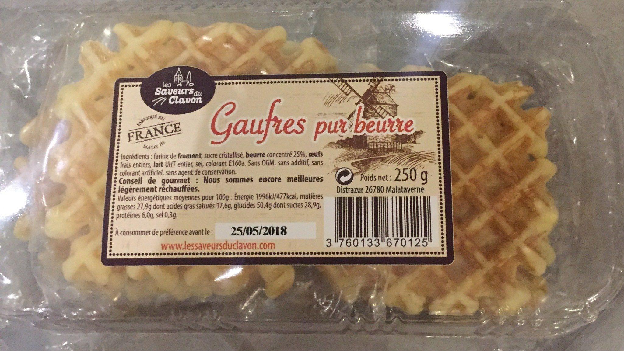 Gaufres Pur Beurre - Produit