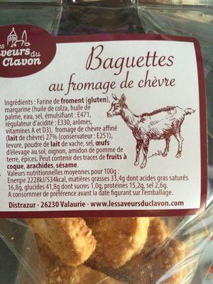 Baguette au fromage de chèvre - 2