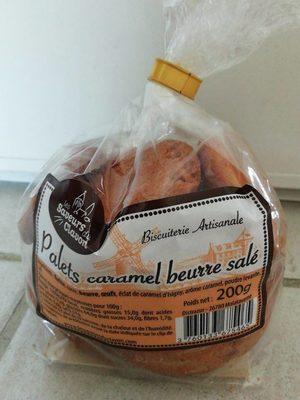 Palets caramel beurre salé - Produit