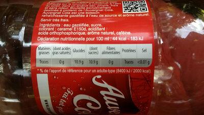 Auvergnat Cola - Valori nutrizionali - fr