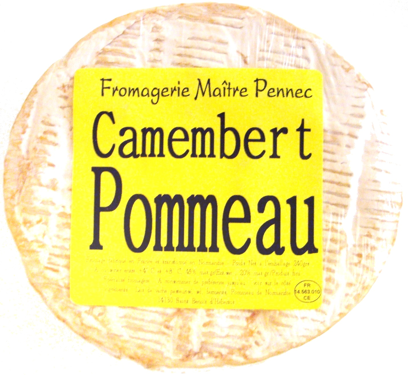 Camembert (20% MG) Pommeau - Product - fr