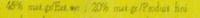 Camembert (20% MG) Pommeau - Voedingswaarden - fr
