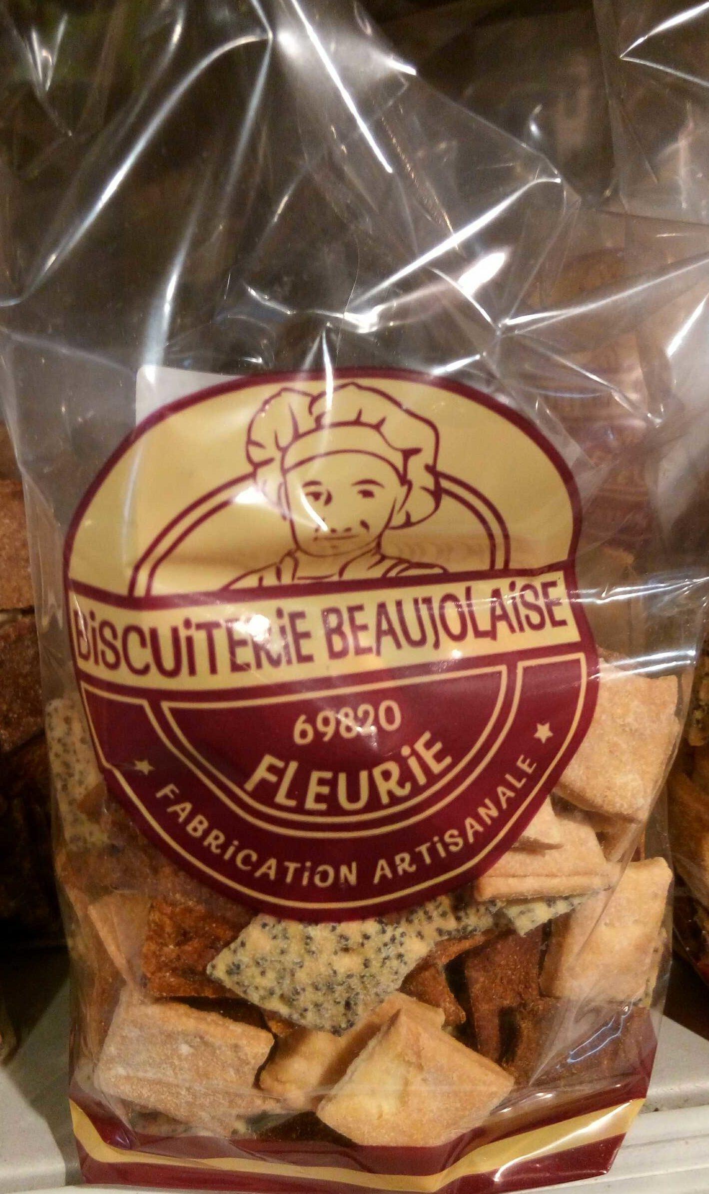 Biscuits apéritif salés aux épices - Produit - fr