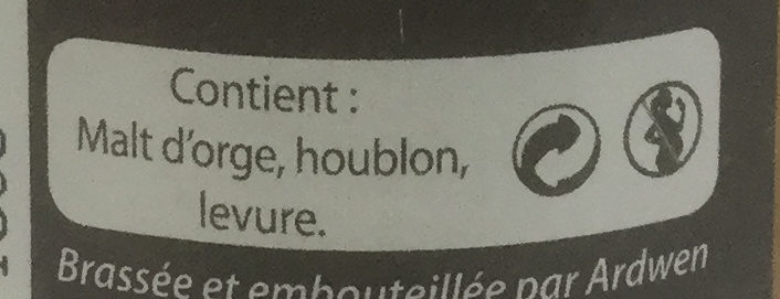 Ardwen hop's cure - Ingredients - fr