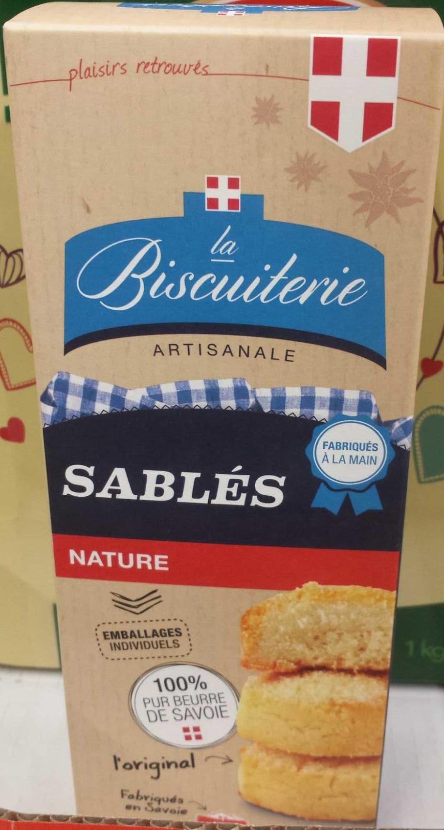 La Biscuiterie Artisanale - Sablés Nature - Product