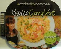Risotto curry vert - Product - fr