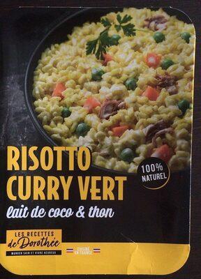 Risotto curry vert - Produit - fr