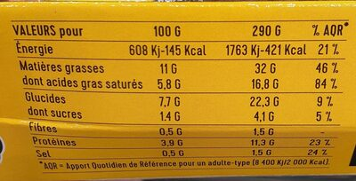 Risotto curry vert - Informations nutritionnelles - fr