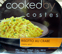 Risotto au Crabe (creamy spicy*) - Produit - fr