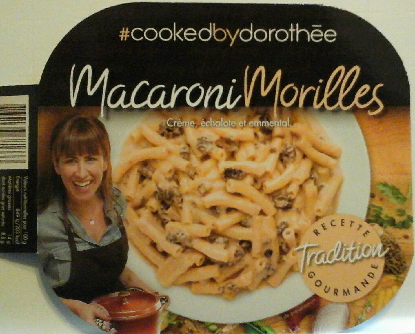 Macaroni morilles - Produit - fr