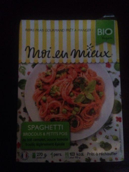 Spaghetti Brocolis Petit Pois - Produit