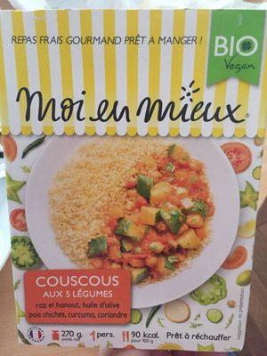 Couscous aux 5 Légumes - 1