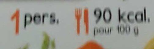 Couscous aux 5 Légumes - Nutrition facts - fr