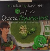 Soupe fraiche Quinoa legumes verts - Product