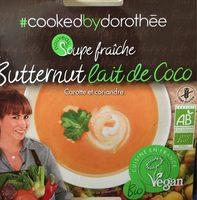 Soupe fraiche Butternut Lait de coco - Product