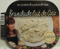 Brandade lait de coco - Produit - fr