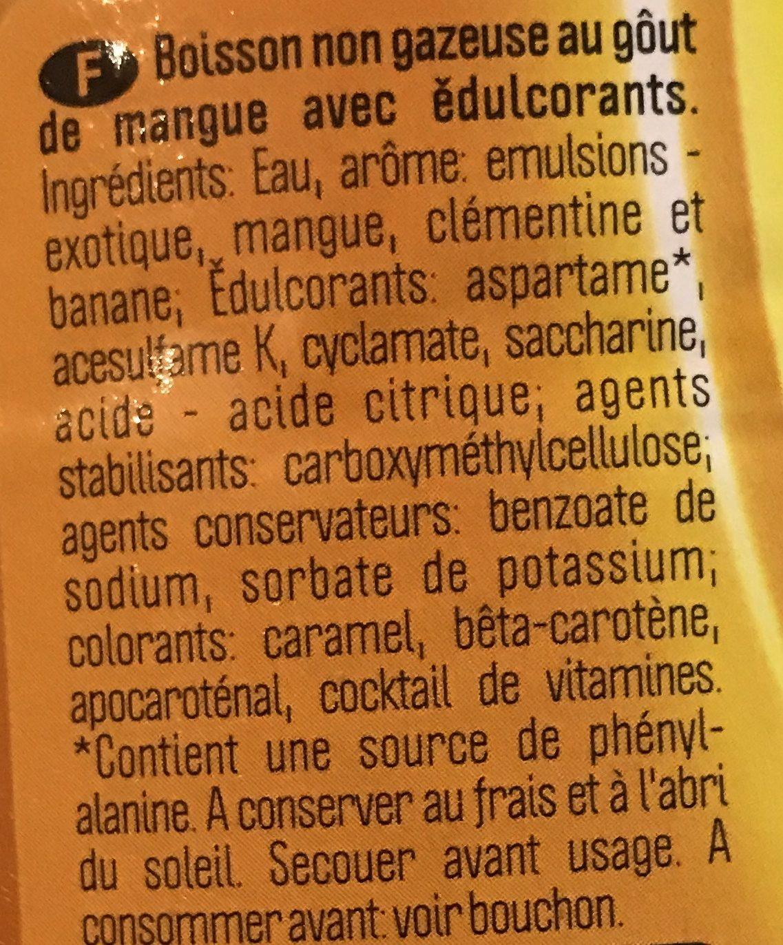 Multivitaminé mangue - Ingredients - fr