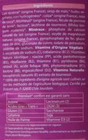 Prémilait - Ingredients - fr