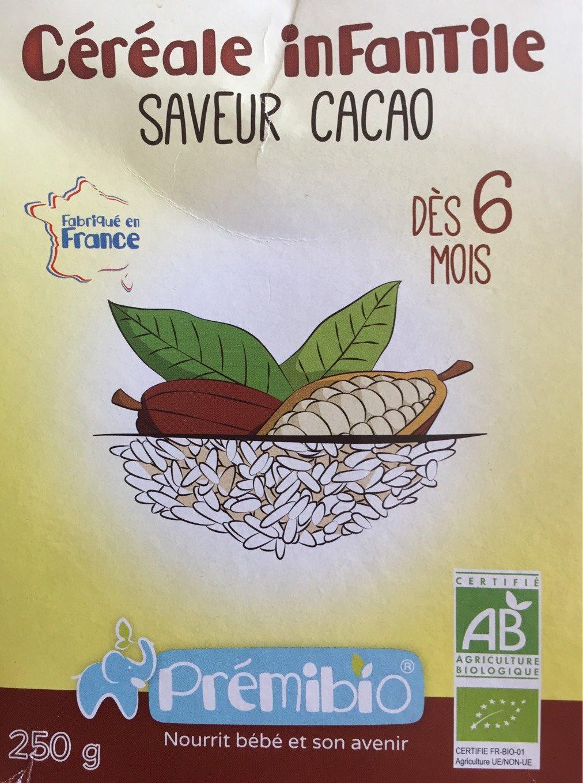 Céréales infantile Prémibio - Produit