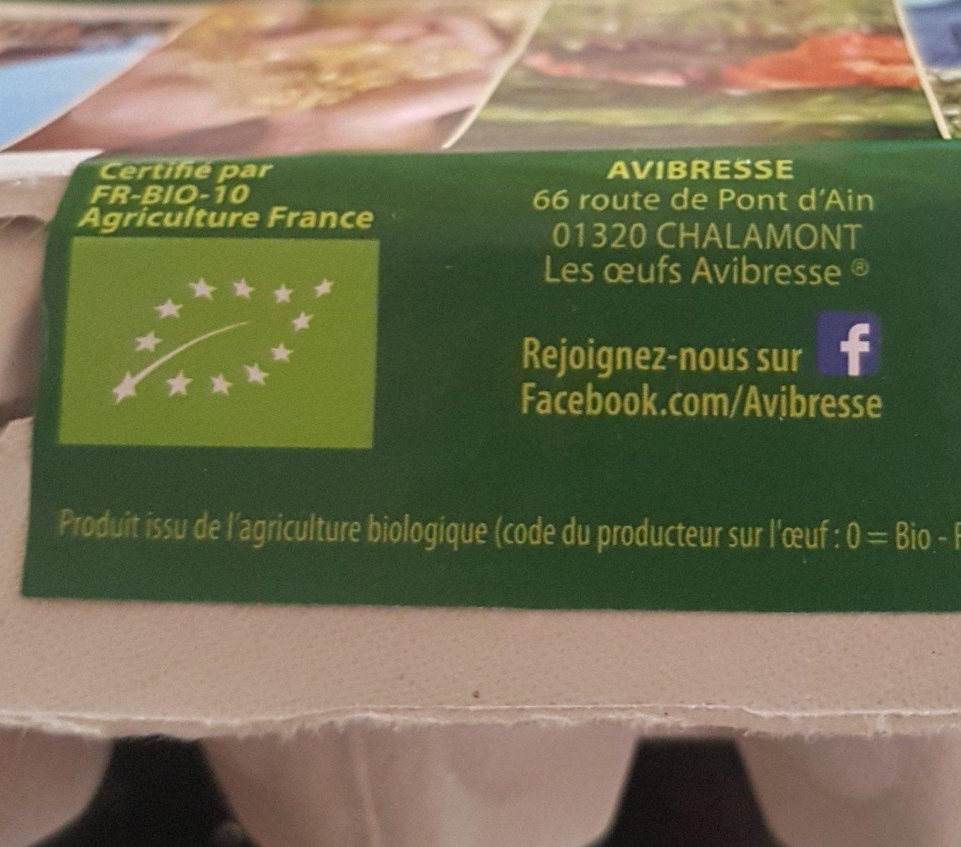 Oeufs - Ingrédients - fr