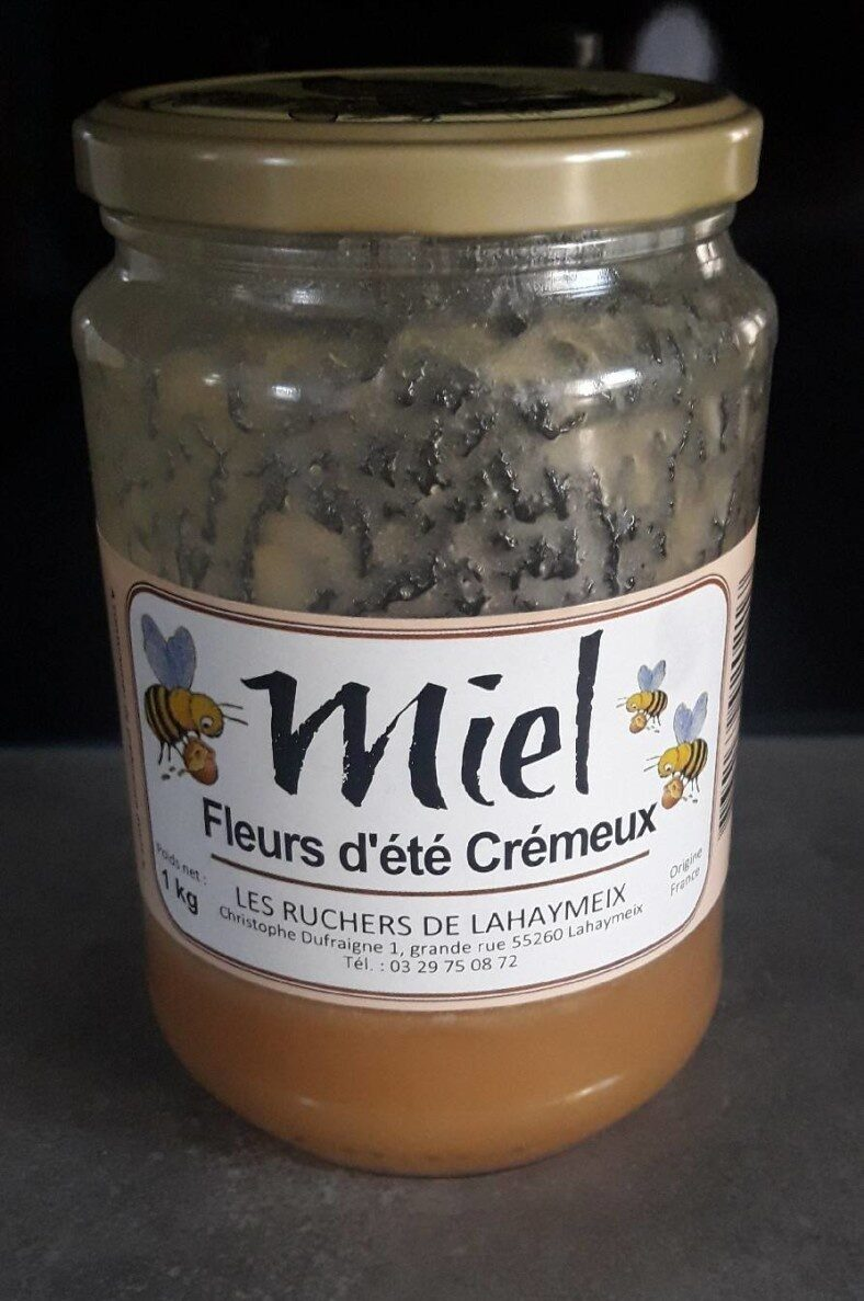 Miel fleurs d été crémeux - Produit - fr