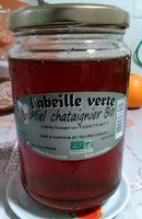 Miel de châtaignier bio - Produit - fr