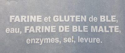 Baguette la tradition française - Ingredienti - fr