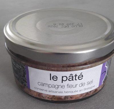 Pâté de campagne à la fleur de sel - Produit