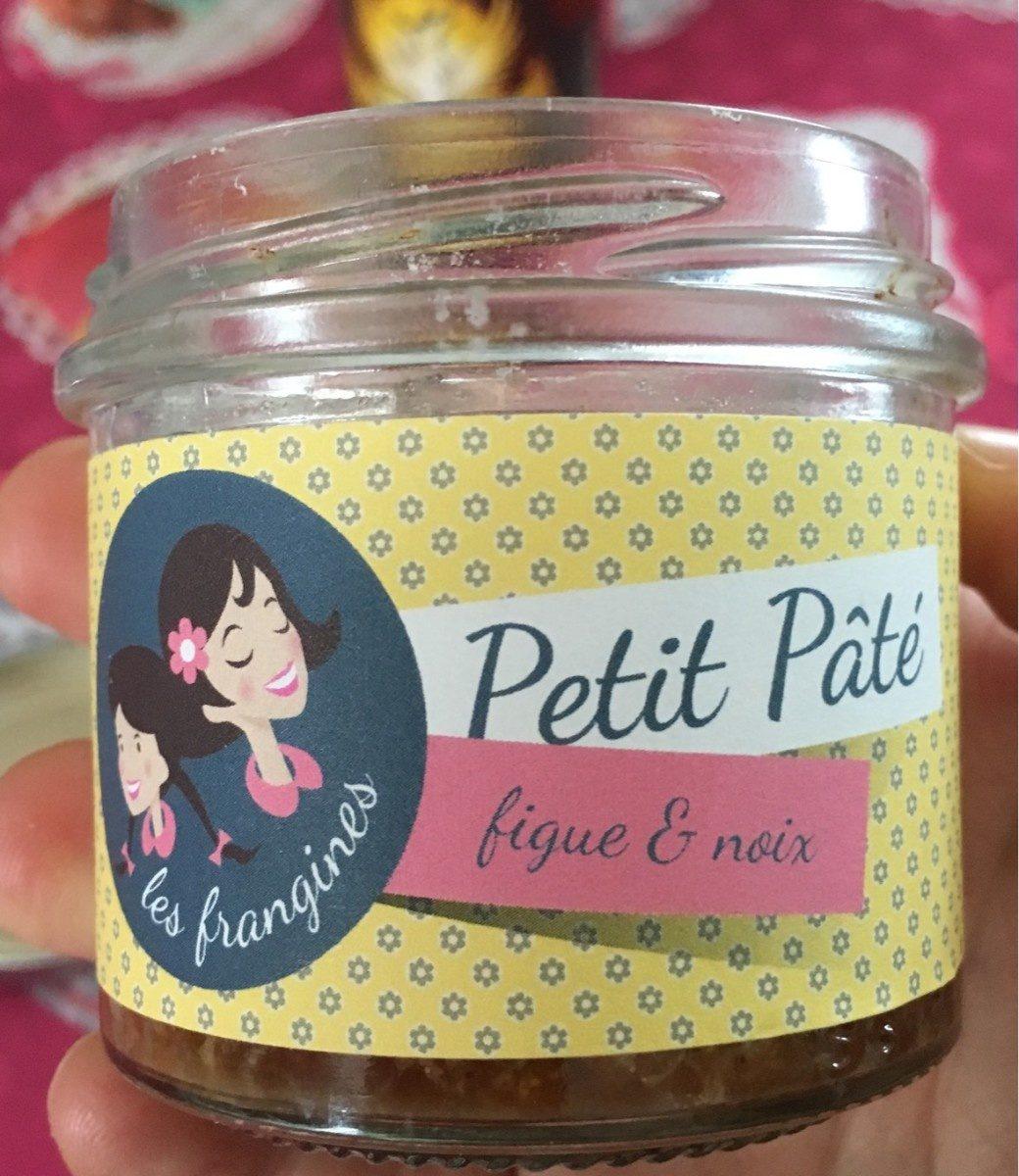 Petit Pâté Figue et Noix - Produit
