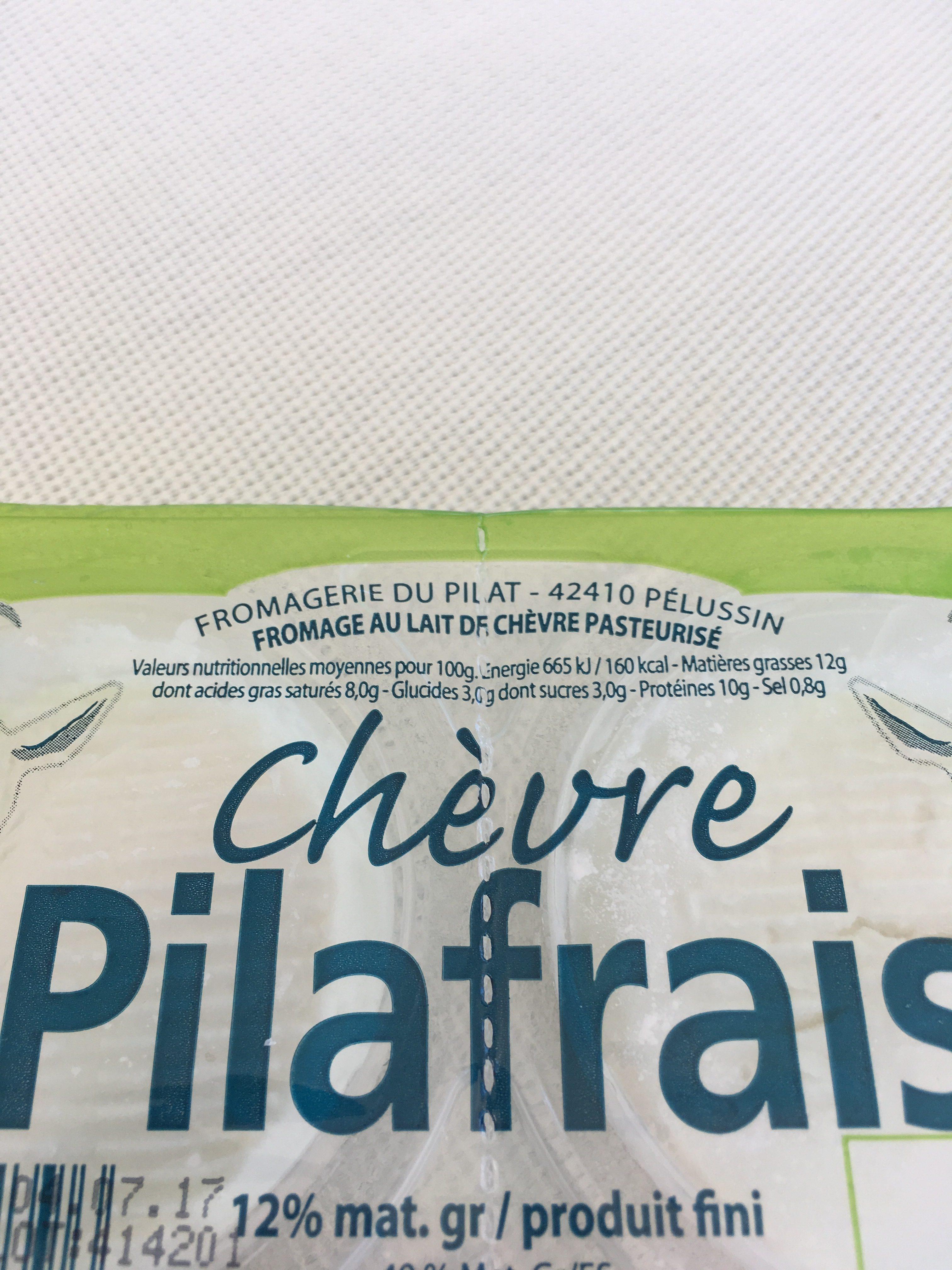 Fromage de chèvre - Ingredients - fr