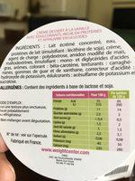 Weight Center Creme Au Chocolat Prete A Deguster - Ingrediënten - fr