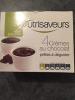 Nutrisaveurs Crèmes Dessert Au Chocolat - Produit - fr