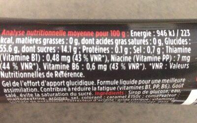 Tonik's liquide sale - Ingrédients