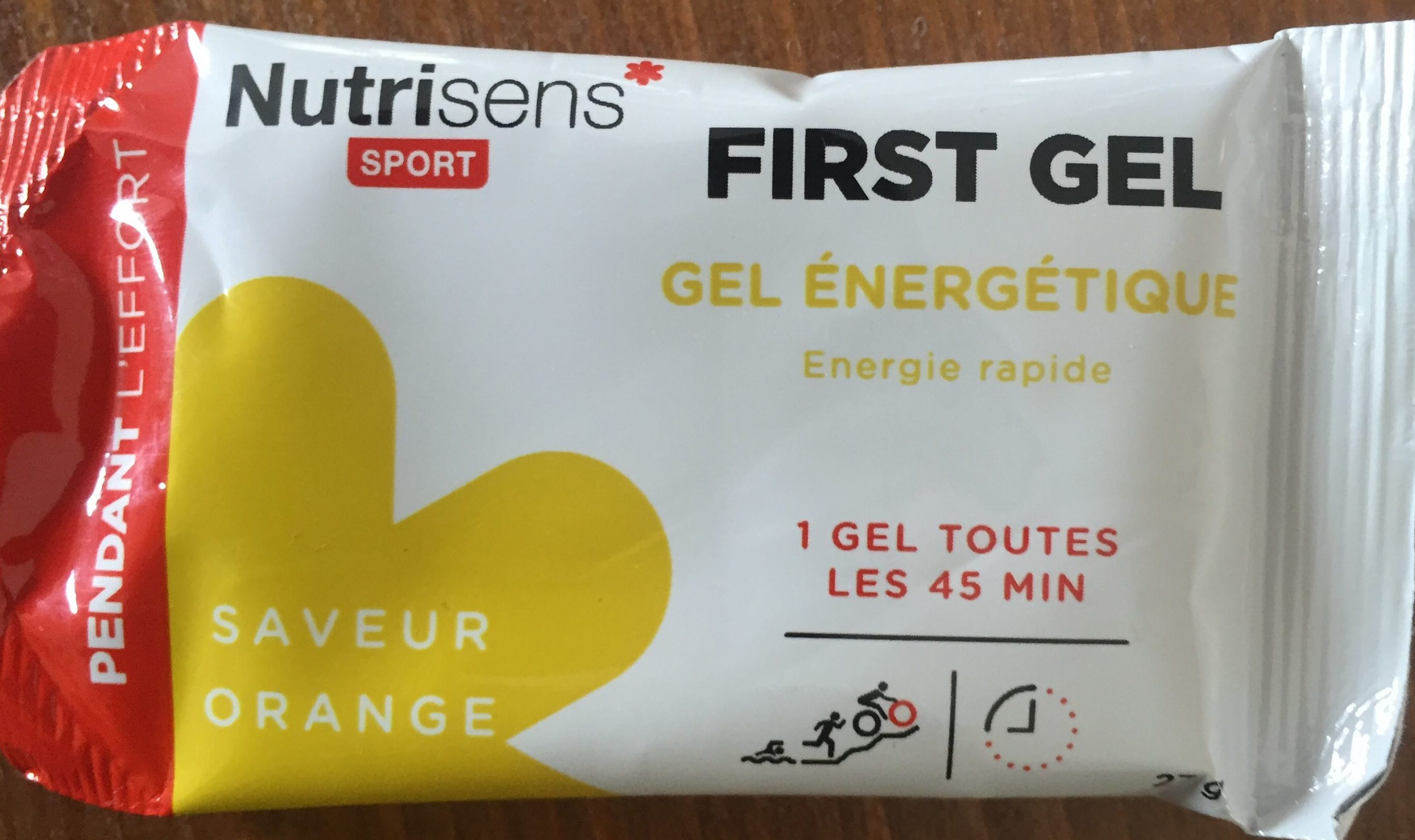 First Gel saveur Orange - Product