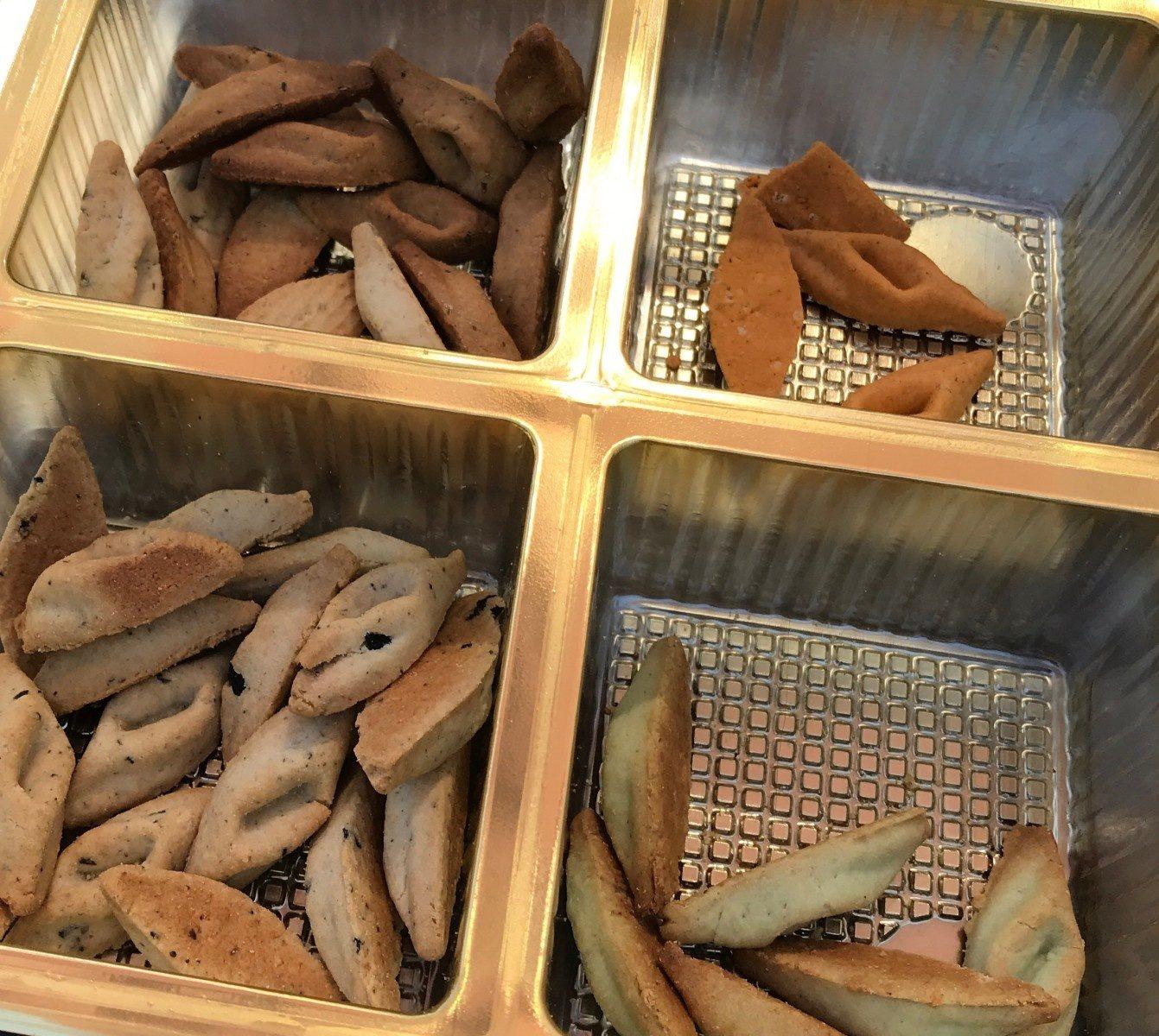 Assortiment de biscuits sales - Produit - fr