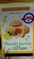 Biscuits fourrés au citron - Product