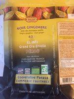 Noir gingembre - Product