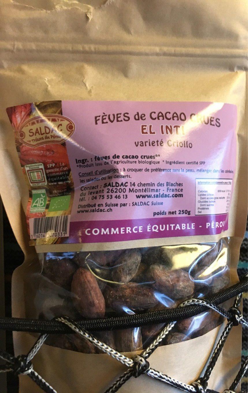 Feves de cacao crues - Produit - fr