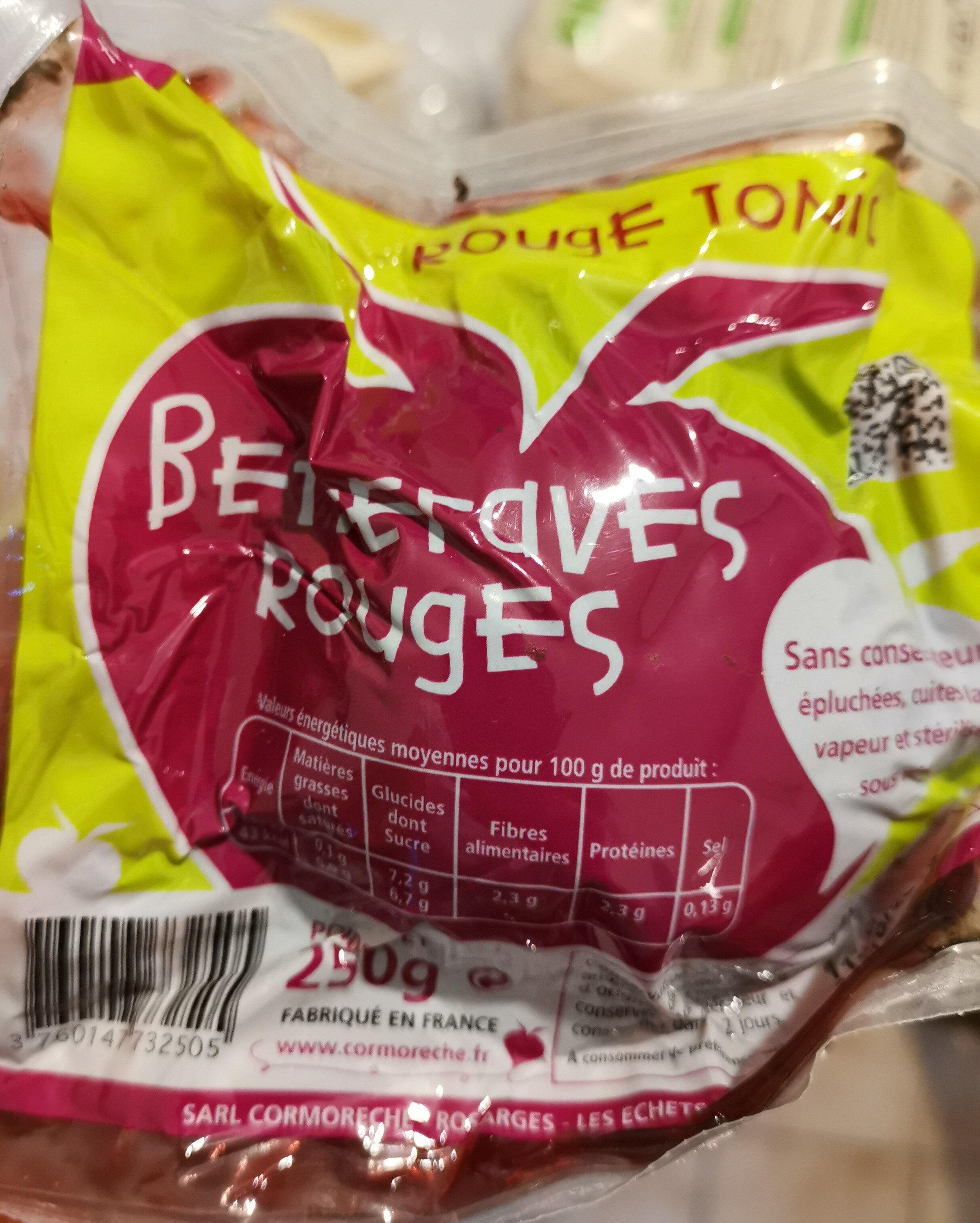 Betteraves Rouges - Produit
