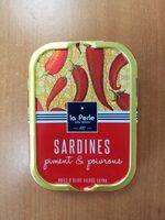 Sardines piment et poivrons - Produit - fr