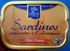 Sardines préparées à l'ancienne - Produit