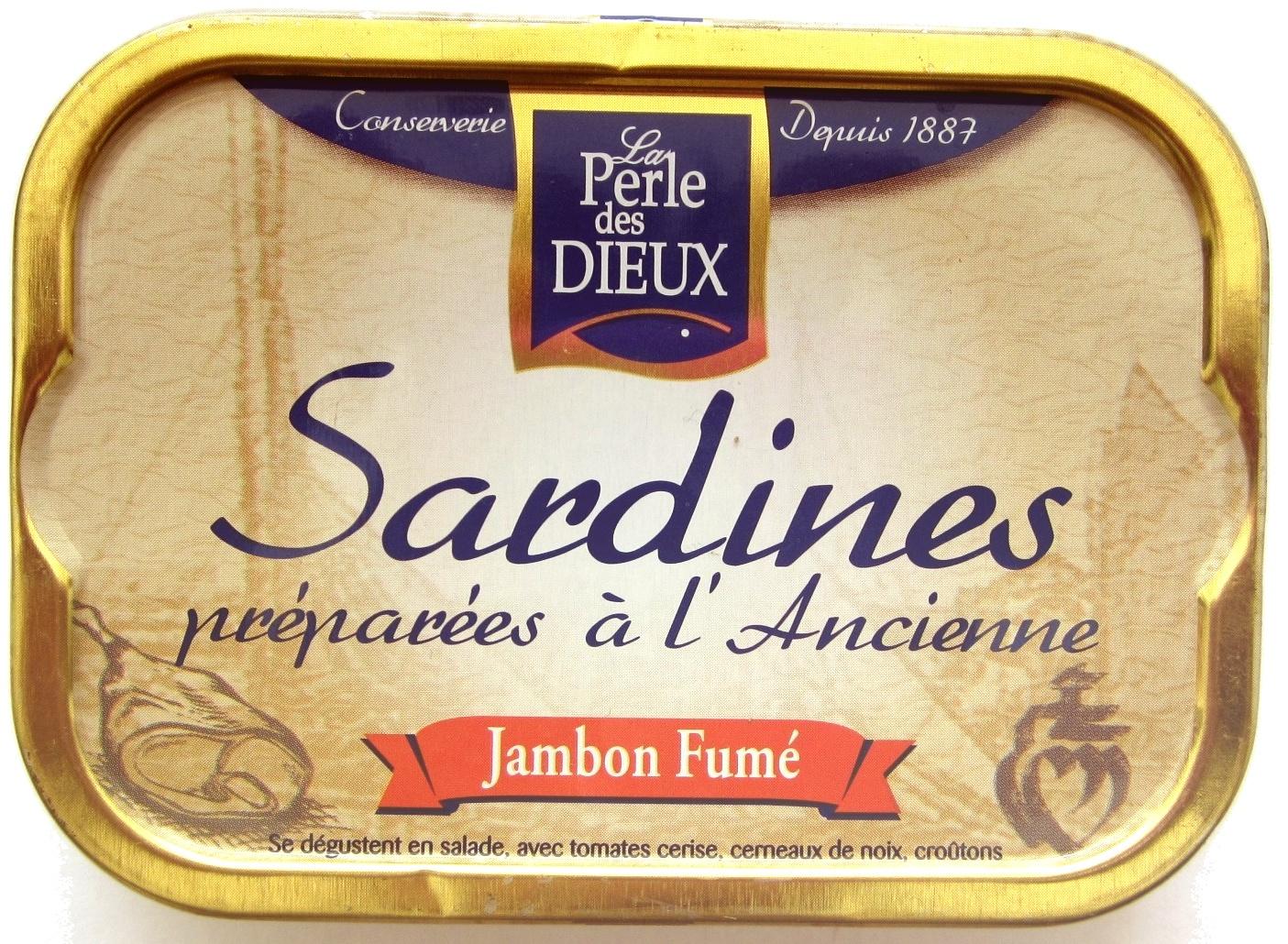 Sardines préparées à l'Ancienne (Jambon Fumé) - Produit - fr