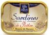 Sardines préparées à l'Ancienne à Poêler (Beurre de Baratte) - Produit