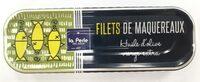 Filets de maquereaux à l'huile d'olive vierge extra - Produit - fr