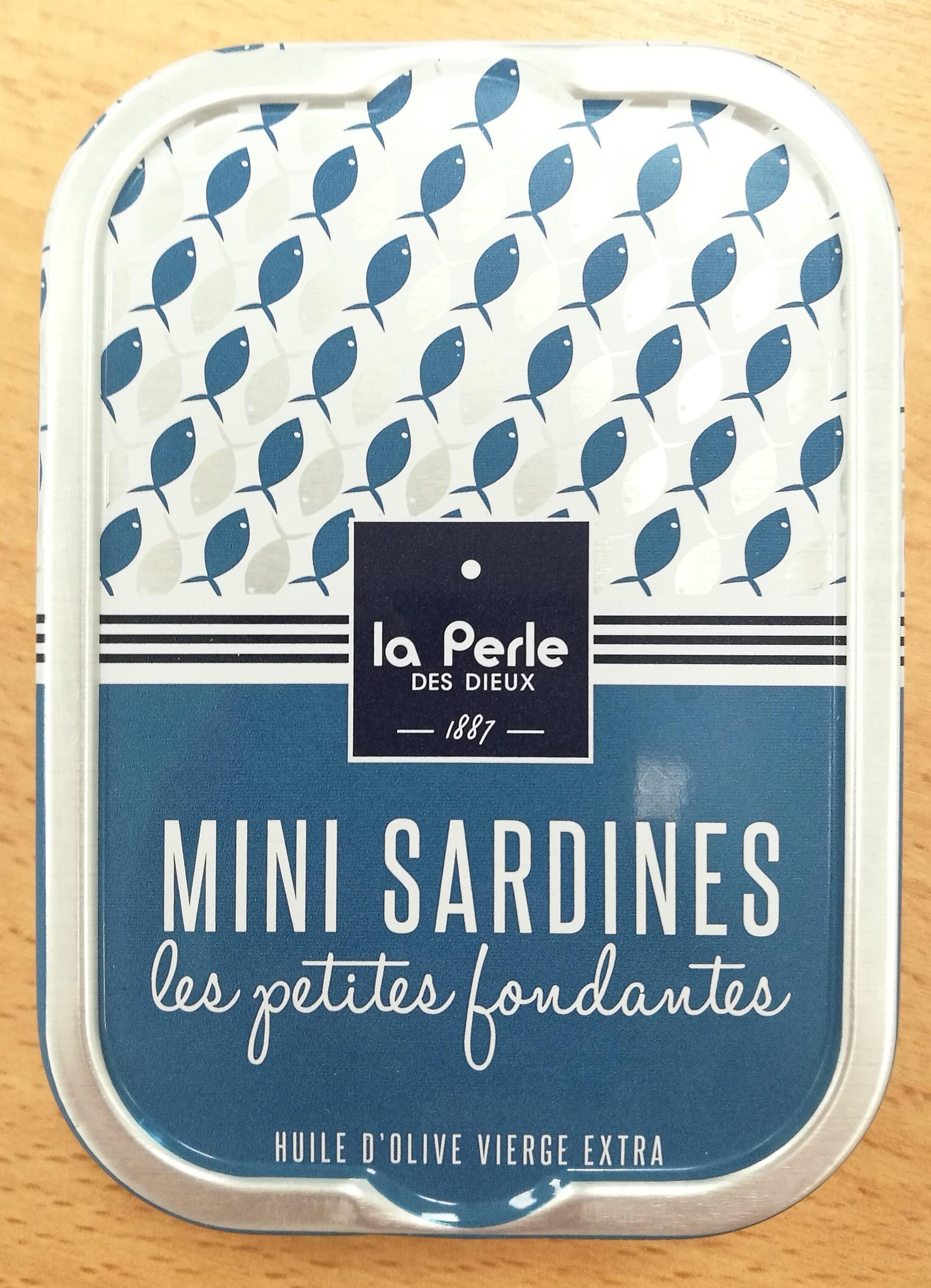 """Mini sardines """"Les petites fondantes"""" - Produit - fr"""