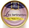 Les tartinettes (Thon/Moule/Curry) - Produit