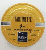 Tartinette thon, moule et curry - Produit - fr