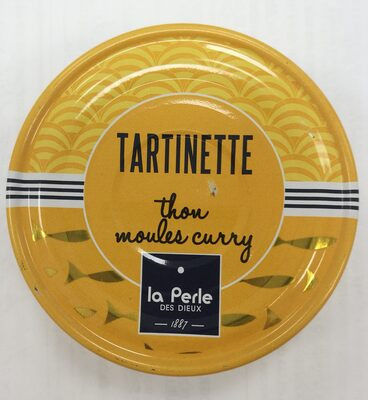 Tartinette thon, moule et curry - Produit