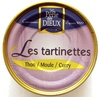 Les tartinettes (Thon/Moule/Curry) - Product
